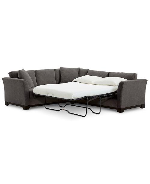 Furniture Elliot Ii 108 Quot Fabric 2 Pc Sleeper Sofa