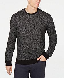 Alfani Men's Star Textured Sweater, Created for Macy's