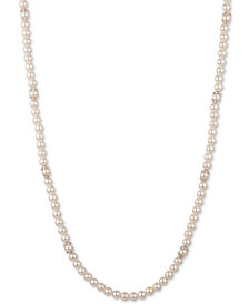 "Marchesa Gold-Tone Imitation Pearl 42"" Strand Necklace"