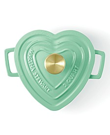 Enameled Cast Iron 2-Qt. Heart-Shaped Casserole, Created for Macy's