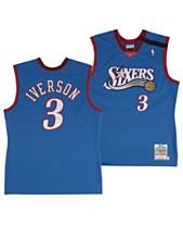 Mitchell   Ness Men s Allen Iverson Philadelphia 76ers Authentic Jersey 342ed685d