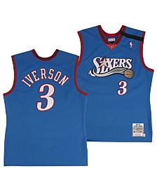 Mitchell & Ness Men's Allen Iverson Philadelphia 76ers Authentic Jersey