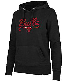 '47 Brand Women's Chicago Bulls Clean Sweep Headline Hoodie