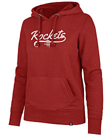 '47 Brand Women's Houston Rockets Clean Sweep Headline Hoodie
