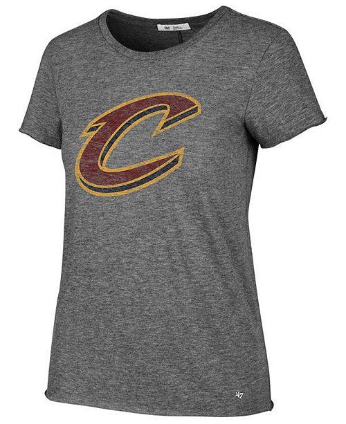 '47 Brand Women's Cleveland Cavaliers Letter T-Shirt