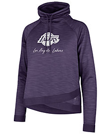 '47 Brand Women's Los Angeles Lakers Commuter Funnelneck Sweatshirt