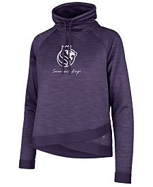 '47 Brand Women's Sacramento Kings Commuter Funnelneck Sweatshirt