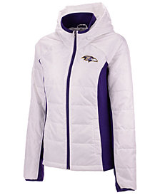 G-III Sports Women's Baltimore Ravens Defense Polyfill Jacket