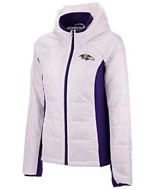 G-III Sports Women's Baltimore Ravens Defense Polyfill Jacket