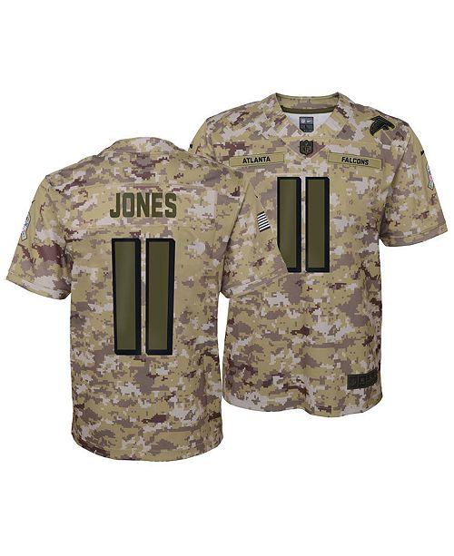 official photos 23e6d 5fdde Nike Julio Jones Atlanta Falcons Salute To Service Jersey ...