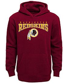 Outerstuff Washington Redskins Fleece Hoodie, Big Boys (8-20)