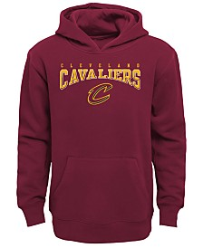 Outerstuff Cleveland Cavaliers Fleece Hoodie, Big Boys (8-20)