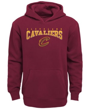 image of Outerstuff Cleveland Cavaliers Fleece Hoodie, Big Boys (8-20)