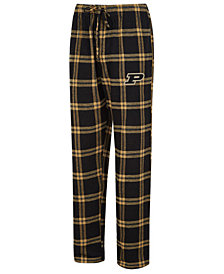 Concepts Sport Men's Purdue Boilermakers Homestretch Flannel Pajama Pants