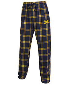Concepts Sport Men's Michigan Wolverines Homestretch Flannel Pajama Pants