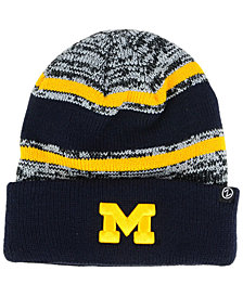 Zephyr Michigan Wolverines Slush Cuff Knit Hat
