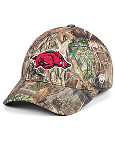 Top of the World Arkansas Razorbacks Berma Camo Flex Fitted Cap
