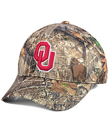 Top of the World Oklahoma Sooners Berma Camo Flex Fitted Cap