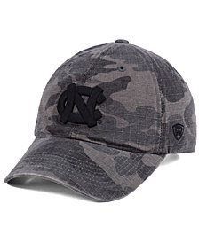 Top of the World North Carolina Tar Heels Woodland Knight Strapback Cap