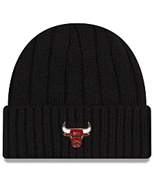 New Era Chicago Bulls Metal Cuffed Knit Hat