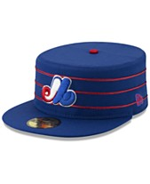 new arrival 7e4e2 36d10 New Era Montreal Expos Pillbox 59FIFTY-FITTED Cap