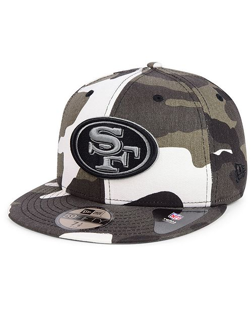 2657e5090 ... New Era San Francisco 49ers Urban Prism Pack 59FIFTY-FITTED Cap ...