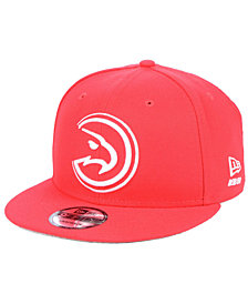 New Era Atlanta Hawks Logo Trace 9FIFTY Snapback Cap