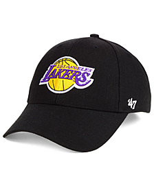 size 40 fd109 a6ecb  47 Brand Los Angeles Lakers Team Color MVP Cap.