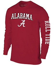 Men's Alabama Crimson Tide Midsize Slogan Long Sleeve T-Shirt