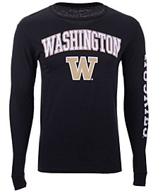 Men's Washington Huskies Midsize Slogan Long Sleeve T-Shirt