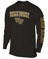 293dceb4995 Colosseum Men s Wake Forest Demon Deacons Midsize Slogan Long Sleeve T-Shirt