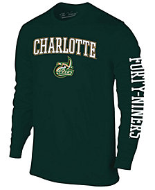 Colosseum Men's Charlotte 49ers Midsize Slogan Long Sleeve T-Shirt