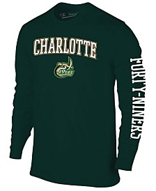 Colosseum Men's Charlotte 49ers Midsize Slogan Long Sleeve T-Shirt