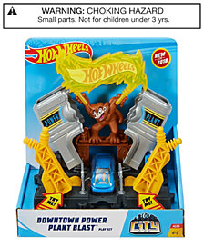 Hot Wheels City Downtown Power Plant Blastplay Set