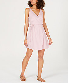 Volcom Juniors' Cotton Wrap Dress