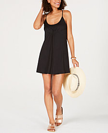 Volcom Juniors' Pleated A-Line Dress