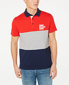 Tommy Hilfiger Men's Adam Colorblocked Polo, Created for Macy's