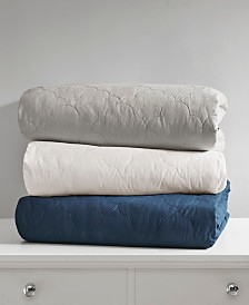 Deluxe Quilted Cotton Weighted Blanket Collection