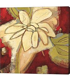 Jungle Gardenia I by Susan Davies Canvas Art