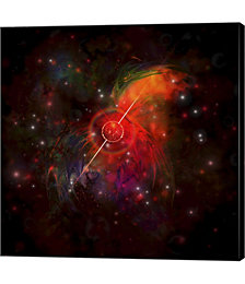 A Pulsar Star Radiating Strong Beams of Light by Corey Ford,Stocktrek Images Canvas Art