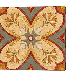 Andalucia Tiles H Color by Silvia Vassileva Canvas Art