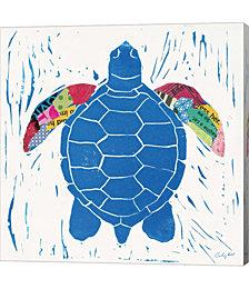 Sea Creature Turtle Color by Courtney Prahl Canvas Art
