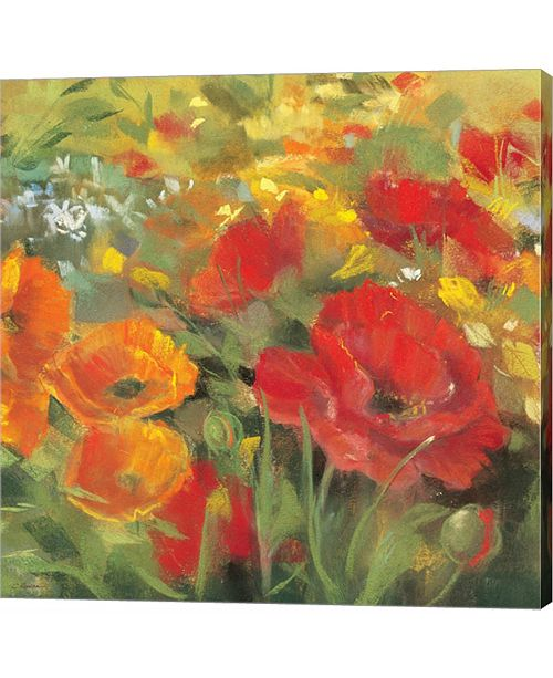 Metaverse Oriental Poppy Field I by Carol Rowan Canvas Art
