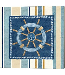 Nautical Stripe IV by Cynthia Coulter Canvas Art