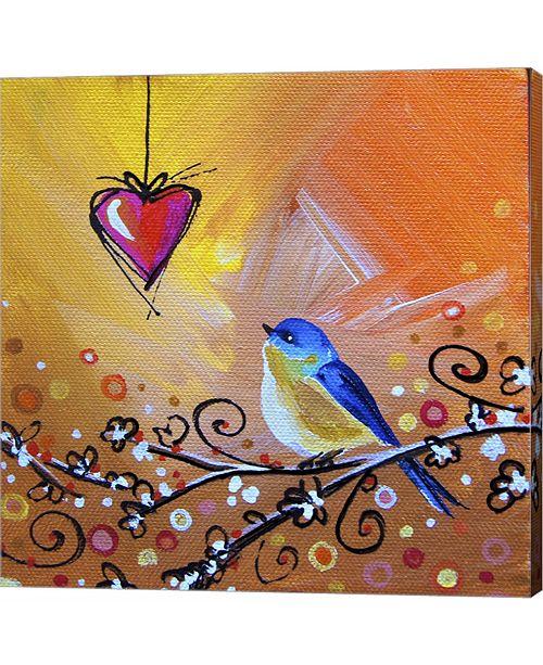 Metaverse Song Bird VII by Cindy Thornton Canvas Art
