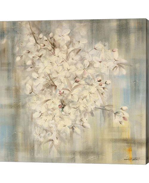 Metaverse White Cherry Blossom I by Li Bo Canvas Art