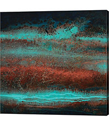 Electric Blue by Jay Zinn Canvas Art
