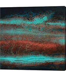 Electric Blue by Jay Zinn Canvas Art