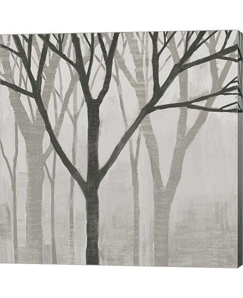Metaverse Spring Trees Greystone II by Kathrine Lovell Canvas Art