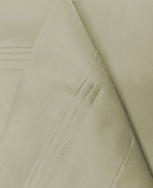Superior 650 Thread Count Egyptian Cotton Solid Sheet Set - Queen - White